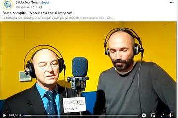 video intervista maurizio parodi a radio babboleo