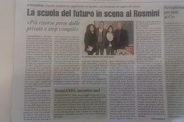 La scuola del futuro in scena al Rosmini